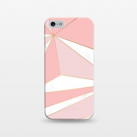 iPhone 5/5E/5s  Pink Geometry 043 by Jelena Obradovic
