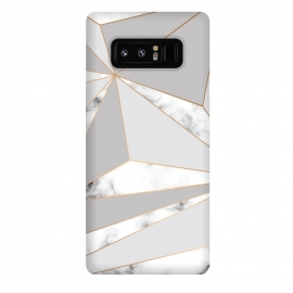 Galaxy Note 8  Marble Geometry 044 by