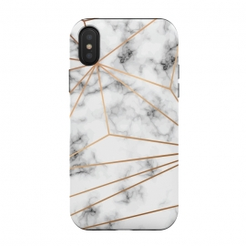 iPhone Xs / X  Marble Geometry 046 by Jelena Obradovic (Marble, marbling, texture, design, vector, illustration, black and white, gray, monochrome, surface, luxurious, elegant, background, stone, natural, print, pattern, repeat, abstract, art, card, creative, decoration, effect, backdrop, graphic, modern, contemporary, shapes, organic, branding, surface )
