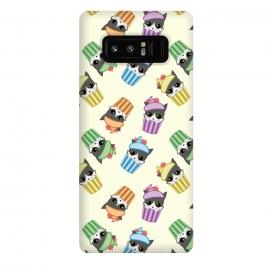 Galaxy Note 8  Cupcake kitty pattern by