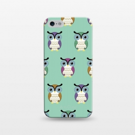 iPhone 5/5E/5s  owl pattern by Laura Nagel
