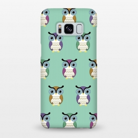 Galaxy S8+  owl pattern by Laura Nagel
