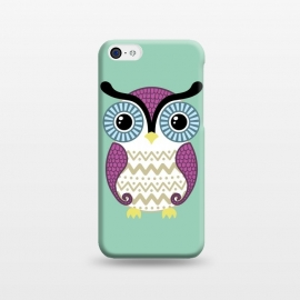 iPhone 5C  Cute owl by Laura Nagel