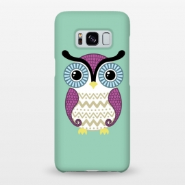 Galaxy S8+  Cute owl by Laura Nagel