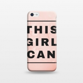 iPhone 5C  THIS GIRL CAN by MALLIKA