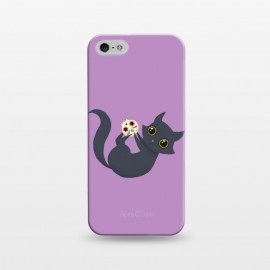 iPhone 5/5E/5s  Kitty sugar skull by Laura Nagel