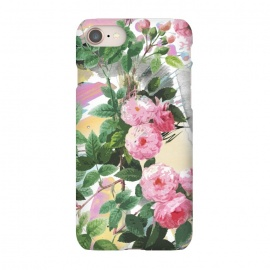 iPhone 8/7  Pink painted roses by Oana