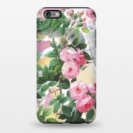 iPhone 6/6s plus  Pink painted roses by Oana