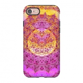 iPhone 8/7  Solar gradient ethnic mandala by Oana