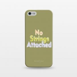 iPhone 5/5E/5s  No Strings Attached by Dhruv Narelia