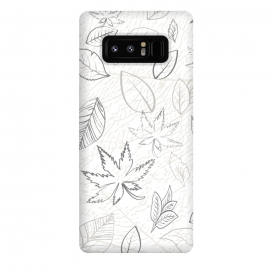 Galaxy Note 8  Tobacco Pattern XIII by Bledi