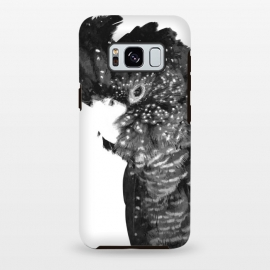 Galaxy S8 plus  Black and White Cockatoo by