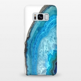 Galaxy S8+  Druze Blue Agate by Alemi