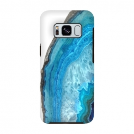 Galaxy S8  Druze Blue Agate by Alemi