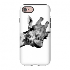 iPhone 8/7  Black and White Giraffe by Alemi