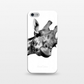 iPhone 5/5E/5s  Black and White Giraffe by Alemi
