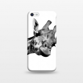 iPhone 5C  Black and White Giraffe by Alemi