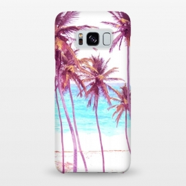 Galaxy S8+  Palm Beach Illustration by Alemi