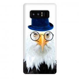 Galaxy Note 8  Funny Eagle Portrait by Alemi