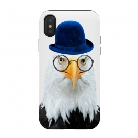 iPhone X  Funny Eagle Portrait by Alemi