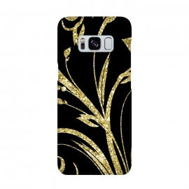 Black Gold and Glitter Pattern by Alemi