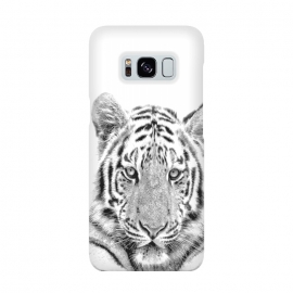 Black and White Tiger by Alemi