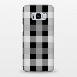 Galaxy S8+  black and white checks by MALLIKA