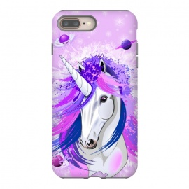 iPhone 8/7 plus  Unicorn Spirit Pink and Purple Mythical Creature by BluedarkArt