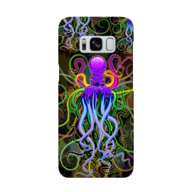 Galaxy S8  Octopus Psychedelic Luminescence by BluedarkArt