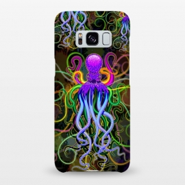 Galaxy S8+  Octopus Psychedelic Luminescence by BluedarkArt