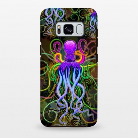 Galaxy S8 plus  Octopus Psychedelic Luminescence by