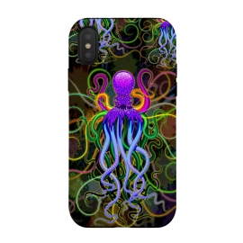 Octopus Psychedelic Luminescence by BluedarkArt