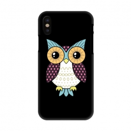 iPhone X  Fancy owl by Laura Nagel