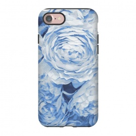 iPhone 8/7  Blue roses by Julia Grifol (blue,roses,garden,spring,botanical,sweet,romantic)