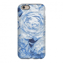 iPhone 6/6s  Blue roses by Julia Grifol (blue,roses,garden,spring,botanical,sweet,romantic)