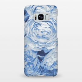 Galaxy S8+  Blue roses by Julia Grifol (blue,roses,garden,spring,botanical,sweet,romantic)
