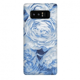 Galaxy Note 8  Blue roses by  (blue,roses,garden,spring,botanical,sweet,romantic)