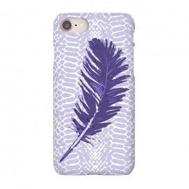 iPhone 8/7  Violet feather by Julia Grifol