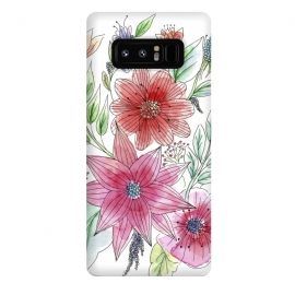 Galaxy Note 8  Wild flowers by Julia Grifol