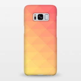 Galaxy S8+  orange yellow pattern by MALLIKA
