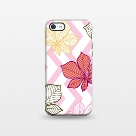 iPhone 5C  Autumn Leaves Pattern II by Bledi