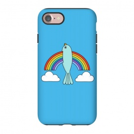 iPhone 8/7  Rainbow Bird by Coffee Man