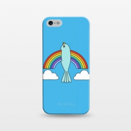 iPhone 5/5E/5s  Rainbow Bird by Coffee Man