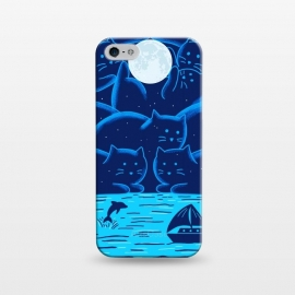 iPhone 5/5E/5s  Cats Landscape by Coffee Man