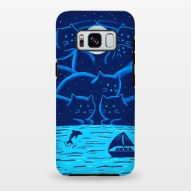 Galaxy S8 plus  Cats Landscape by