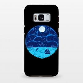 Galaxy S8 plus  Cats Landscape-2 by