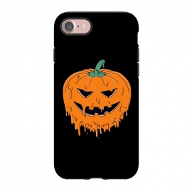 iPhone 8/7  Melted Pumpkin by Coffee Man (pumpkin,melted, horror, halloween,evil,dead,metal,trick,holiday)