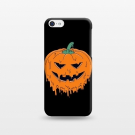 iPhone 5C  Melted Pumpkin by Coffee Man (pumpkin,melted, horror, halloween,evil,dead,metal,trick,holiday)