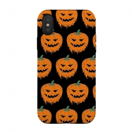 iPhone Xs / X  Melted Pumpkin Pattern by