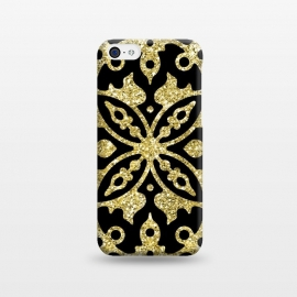 iPhone 5C  Black and Gold Fashion Case by Alemi